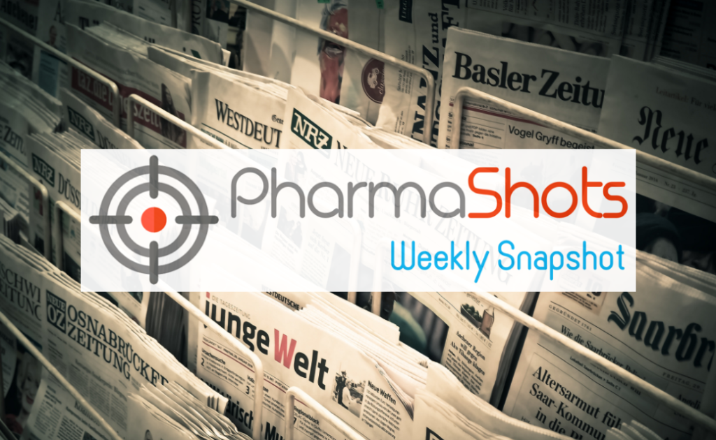 PharmaShots Weekly Snapshot (March 30 - April 03, 2020)